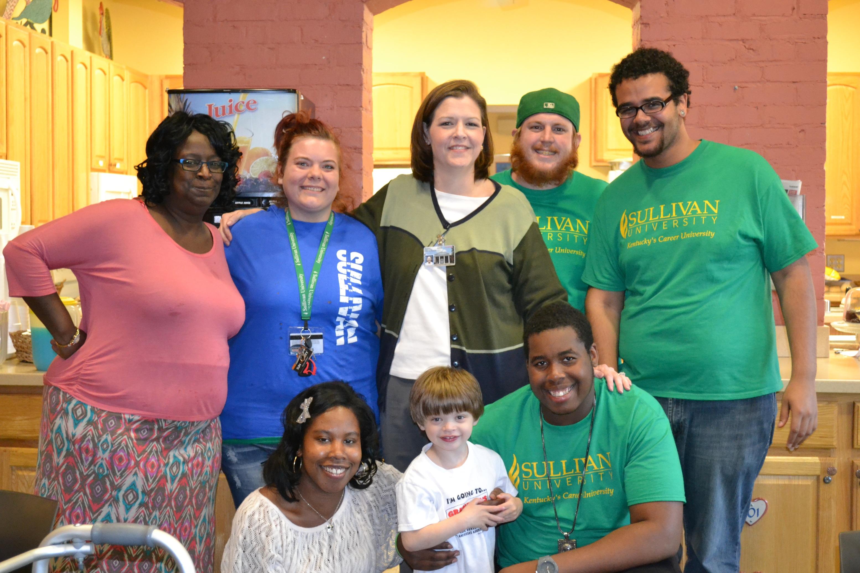 Student Activities Committee Volunteers at Ronald McDonald House
