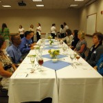 Sullivan University's Etiquette Luncheon provided students with an opportunity to practice etiquette and learn insider tips about lunch and dinner interview techniques.