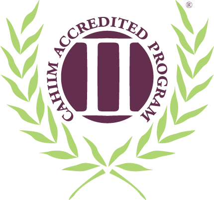 Cahiim accredited program logo