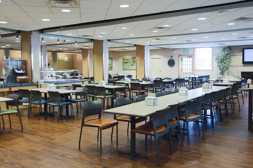 Sullivan cafeteria