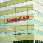 compucom building and logo