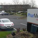 PharMerica corporation business sign