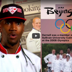 Darnell was a member of the Sullivan University Culinary team at the 2008 Olympics in Beijing