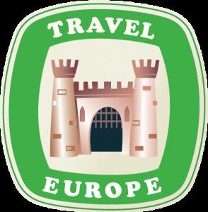 travel Europe sticker icon