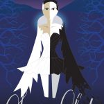 Swan lake illustrated poster