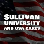 Sullivan University and USA cares poster image
