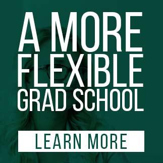 a more flexible grad school poster image