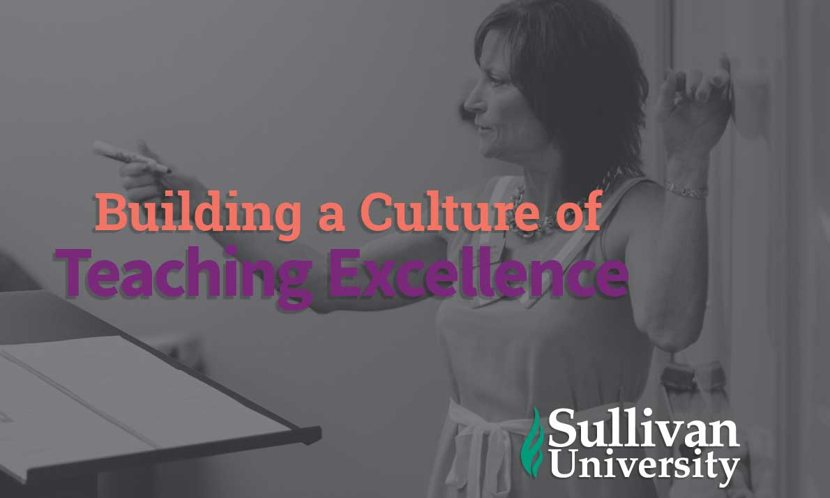 building a culture of excellence poster