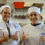 Students at baking camp